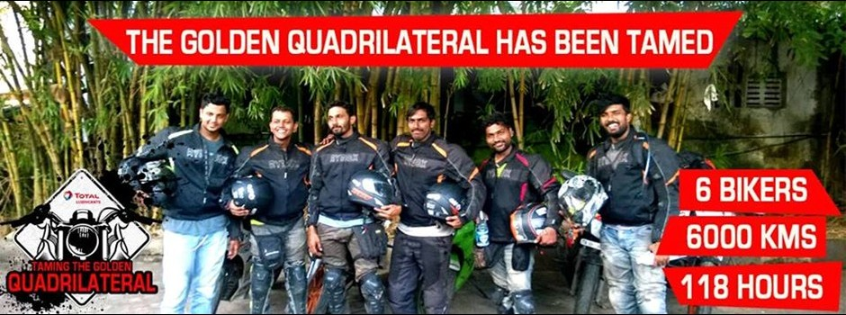 Team - Golden Quadrilateral - Spine Tourer