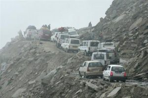 Traffic in Leh Ladakh | SpineTourer